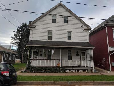 Bloomsburg Multi Family Home For Sale: 156-158 Leonard Street