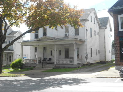 Bloomsburg Multi Family Home For Sale: 370-372 East Street