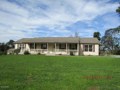 Single Family Home For Sale: 3338 Erdley Church Road