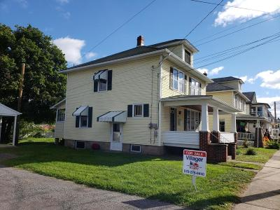 Single Family Home Active Contingent: 317 W Mahoning Street