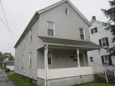 Berwick PA Multi Family Home For Sale: $54,900