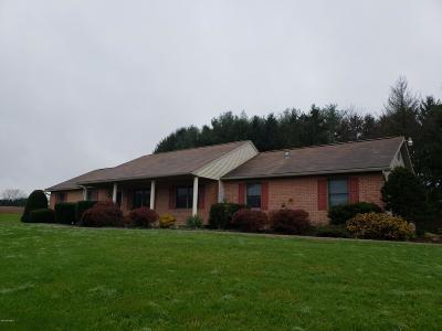 Danville Single Family Home Active Contingent: 927 Bald Top Road