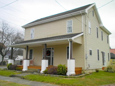 Nescopeck PA Single Family Home Active Contingent: $147,500