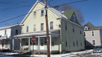 Multi Family Home For Sale: 541-543 Green Street