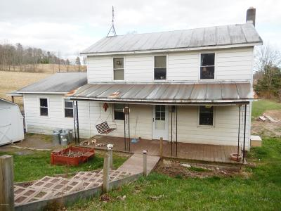 Benton Single Family Home For Sale: 1014 Pa-239 Highway