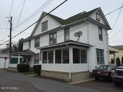 Bloomsburg PA Multi Family Home For Sale: $220,000
