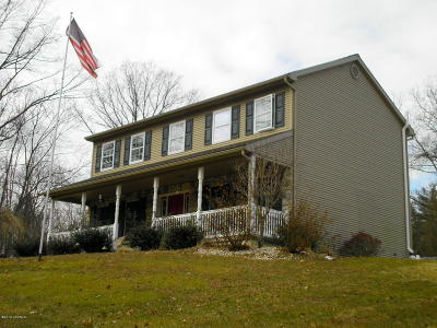 Single Family Home For Sale: 1099 Shickshinny Valley Road
