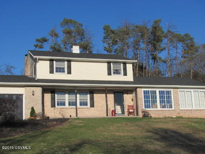 Danville Single Family Home For Sale: 1076 Red Lane