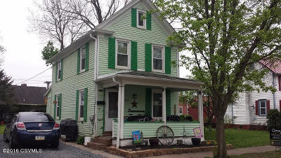 Bloomsburg PA Single Family Home For Sale: $68,000