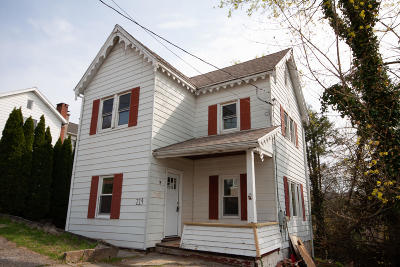 Catawissa PA Single Family Home For Sale: $119,900
