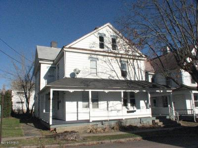 Bloomsburg PA Multi Family Home For Sale: $124,000