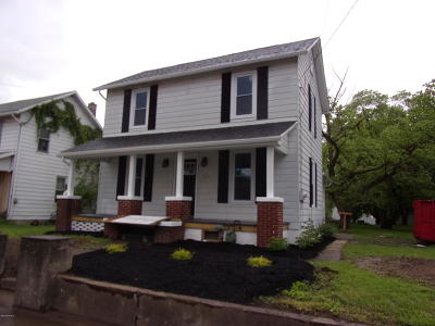 Berwick PA Single Family Home For Sale: $119,900