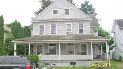 Berwick PA Multi Family Home Active Contingent: $70,000
