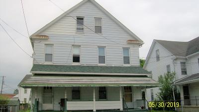Berwick PA Multi Family Home For Sale: $94,000