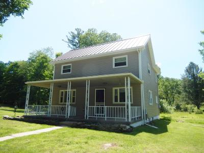 Single Family Home For Sale: 136 Hartman Hollow Road