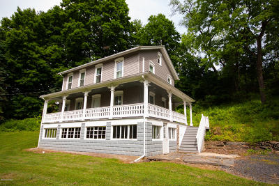 Catawissa PA Single Family Home Active Contingent: $163,500