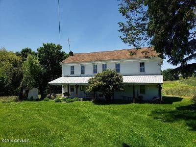 Danville Farm For Sale: 633 Rushtown Road