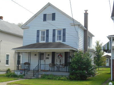 Berwick PA Single Family Home Active Contingent: $92,000
