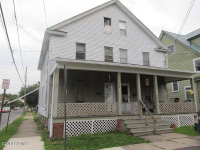 Bloomsburg Multi Family Home For Sale: 744-746 Center Street