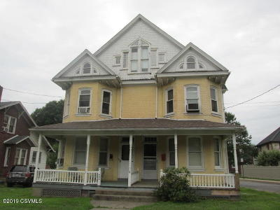 Bloomsburg Multi Family Home For Sale: 840-842 Market Street