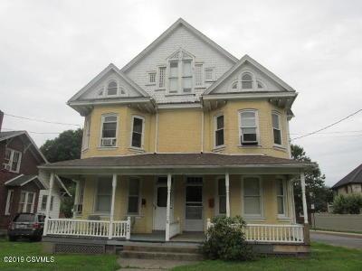 Bloomsburg Multi Family Home For Sale: 840-842 Market Street
