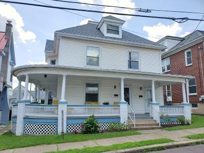 Bloomsburg Multi Family Home For Sale: 418-420 Jefferson Street