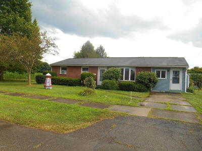 Berwick PA Single Family Home Active Contingent: $135,000