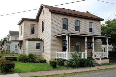 Berwick PA Single Family Home For Sale: $78,500