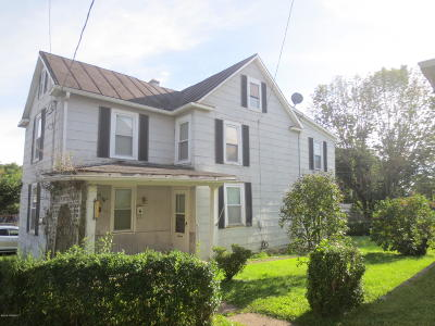 Bloomsburg Single Family Home For Sale: 280 1/2 E 8th Street