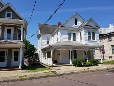 Bloomsburg Multi Family Home For Sale: 138 West Street