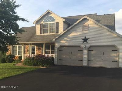 Bloomsburg PA Single Family Home For Sale: $299,900