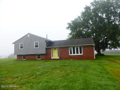 Single Family Home For Sale: 545 Martzville Road