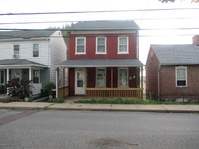 Danville Single Family Home Active Contingent: 1133 Upper Mulberry Street