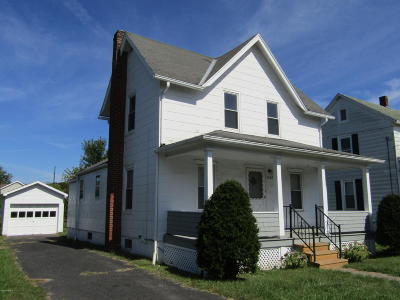 Berwick PA Single Family Home For Sale: $65,000