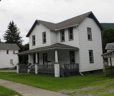 Emporium PA Single Family Home For Sale: $59,500