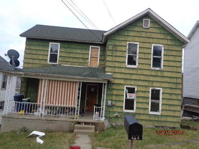 Johnsonburg Single Family Home For Sale: 424 3rd Ave