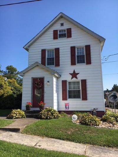Ridgway PA Single Family Home For Sale: $66,000