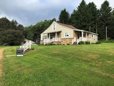 Johnsonburg Single Family Home Pending: 3311 Long Level Rd