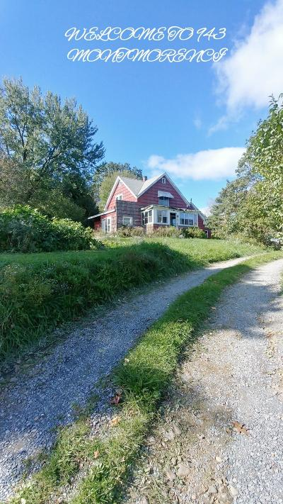 Elk County Single Family Home For Sale: 943 Montmorenci Rd
