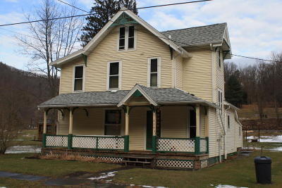Driftwood PA Single Family Home For Sale: $99,000