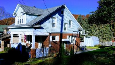 Ridgway PA Single Family Home For Sale: $86,500