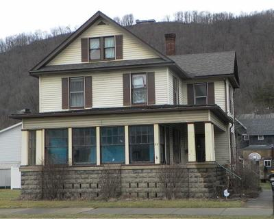 Emporium PA Single Family Home For Sale: $58,500
