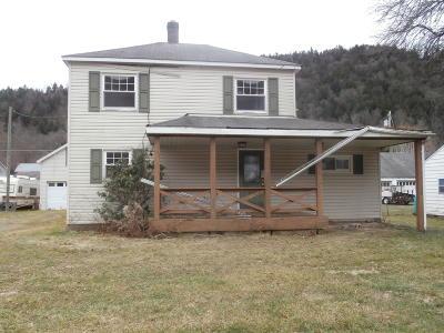 Emporium Single Family Home For Sale: 624 Sizerville Rd