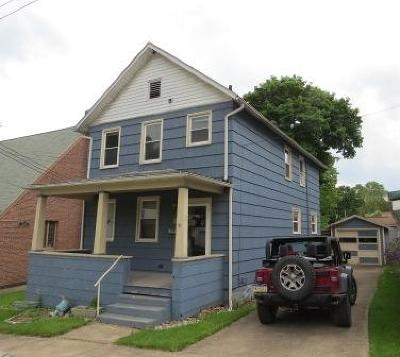 Elk County Single Family Home For Sale: 411 Cherry Ave