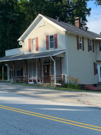 Weedville Single Family Home For Sale: 23154 Quehanna Hwy