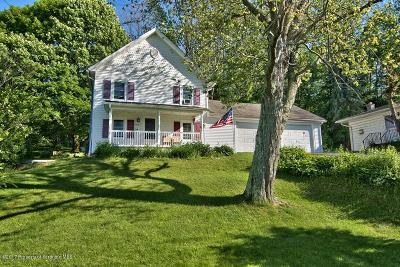 Clarks Summit Single Family Home For Sale: 1010 Winola Road