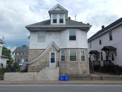 Luzerne County Multi Family Home For Sale: 219 Main St