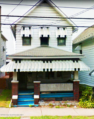 Luzerne County Single Family Home For Sale: 253 Park Avenue