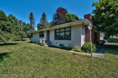 Clarks Summit Single Family Home For Sale: 101 Old Post Rd