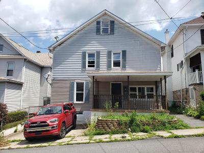 Luzerne County Single Family Home For Sale: 70 Union St